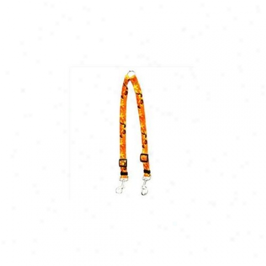 Yellow Do Design Cmo108 Orange Camo Coupler Lead - Small