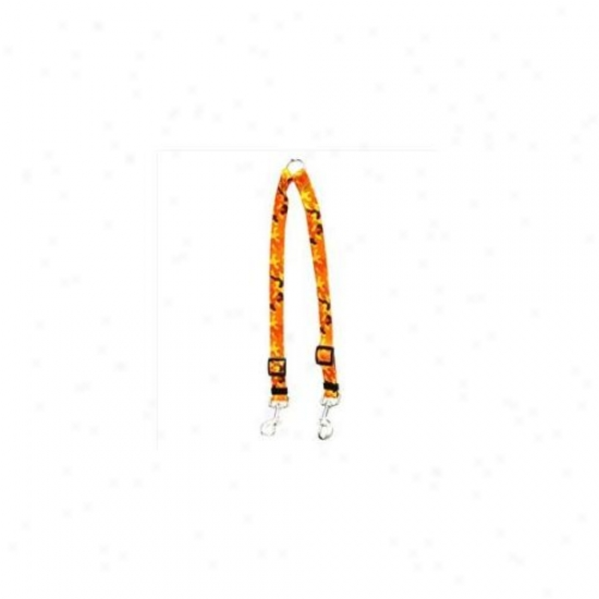 Yellow Dog Design Cmo110 Orange Camo Coupler Lead - Large