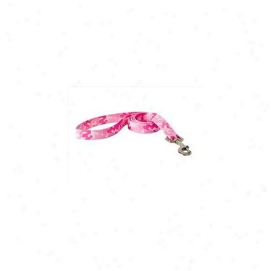 Yellow Dog Design Cpk106ld Camo Pink Lead - Large