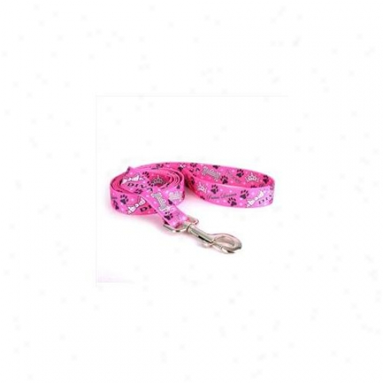 Yellow Dog Design Dvd106ld 1 Inch X 60 Inch Diva Dog Lead