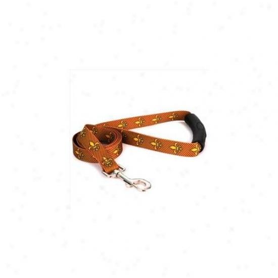 Yellow Dog Design Fdlg106ld-ez 1 Incy X 60 Inch Fleur De Lis Gold Ez-lead