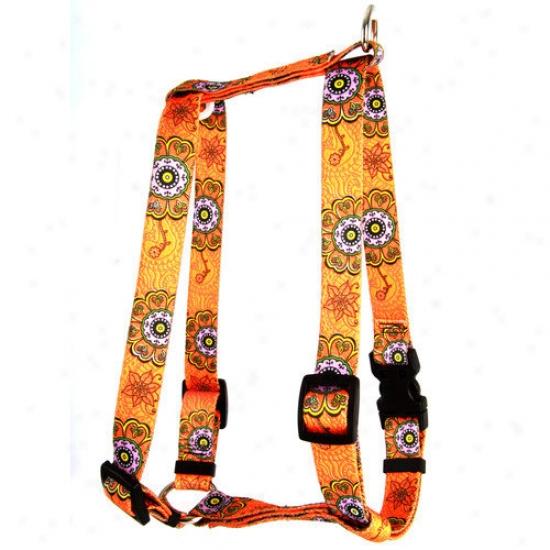 Yellow Dog Design Folk Flowers Roman Harness