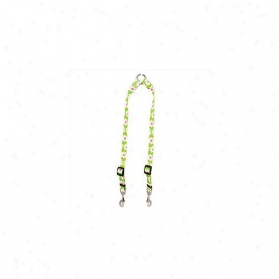 Yellow Dog Design Gd108 Green Daisy Coupler Lead - Small
