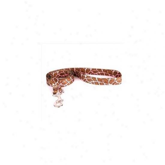 Yellow Dog Design Girp106ld 1 Inch X 60 Inch Giraffe Pink Lead