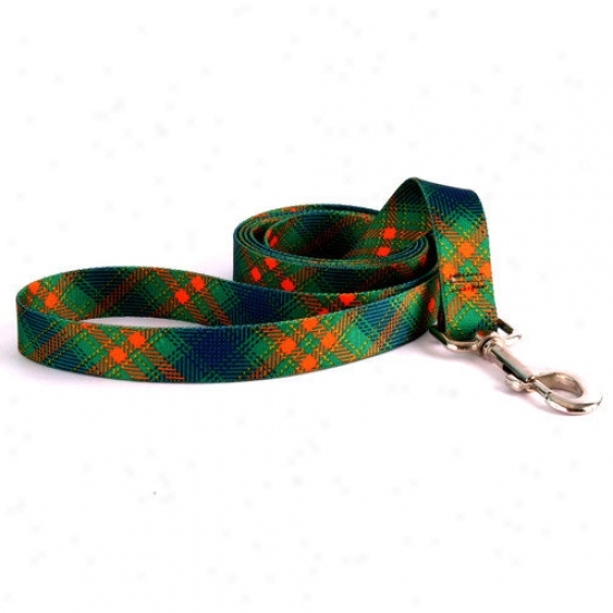 Yellow Dog Design Green Kilt Lead