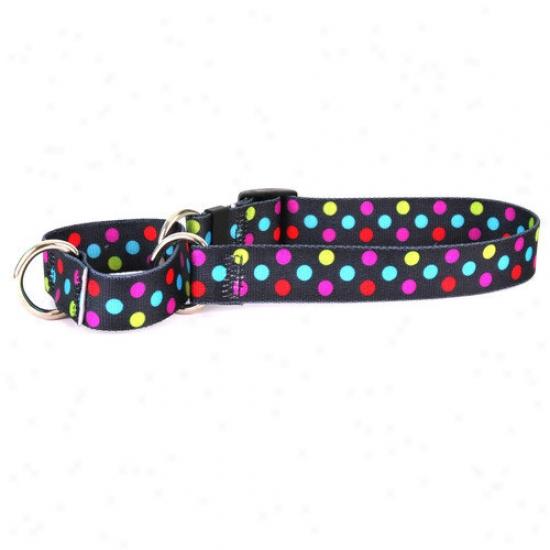 Yellow Dog Design Gumballs Martingale Collar