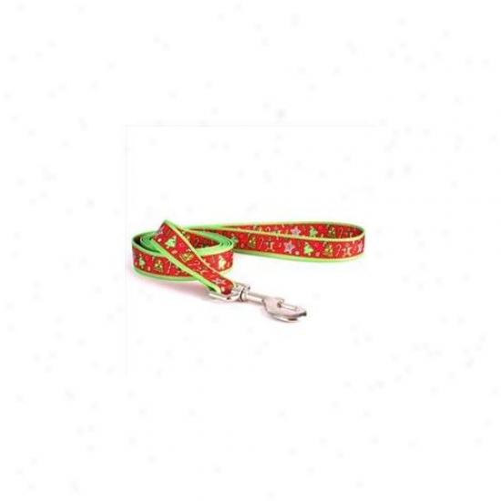 Yellow Dog Design Htrt106ld 1 Inch X 60 Inch Holiday Treats Lead
