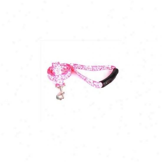 Yellow Dog Design Ifp106ld-ez 1 Imch X 60 Inch Island Floral Pink Ez-lead