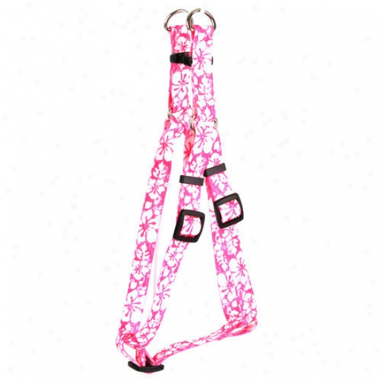 Yellow Dog Design Island Floral Step-in Harness