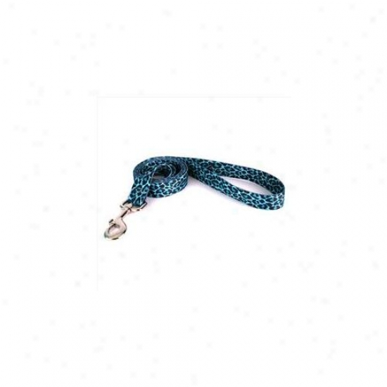 Yellow Dog Design Ltl105ld 3/4 Inch X 60 Inch Leopard Teal Lead