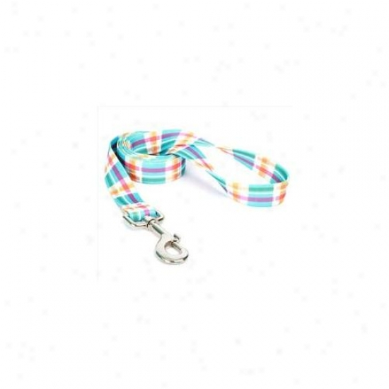 Yellow Dog Design Mdb106ld 1 Inch X 60 Inch Madras Blue Lead