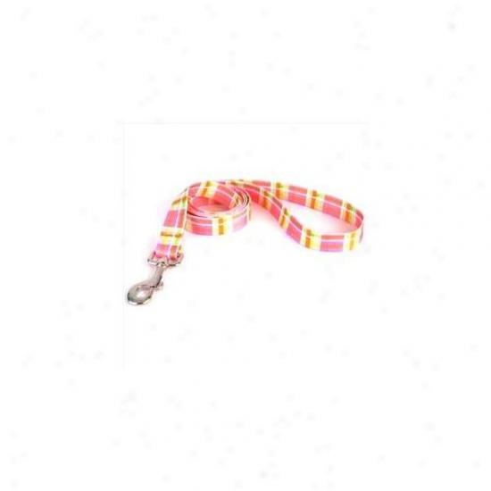 Yellow Dog Design Mdp106ld 1 Inch X 60 Inch Madras Pink Lead