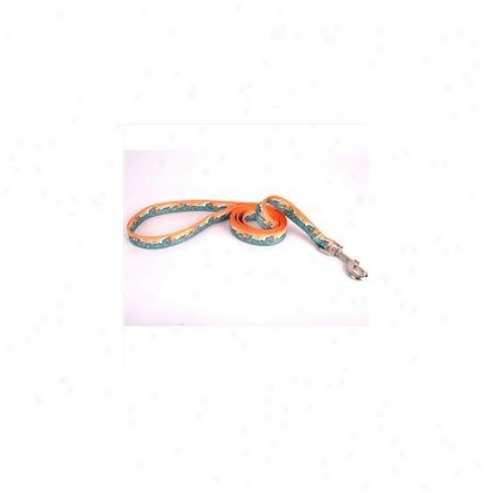 Yellow Dog Design Mwo106ld 1 Inch X 60 Inch Mystic Waves Orange Lead
