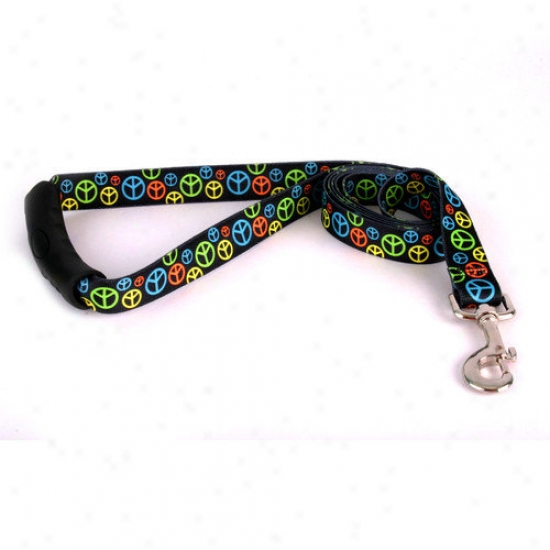 Yellow Dog Design Neon Peace Signs Ez-lead
