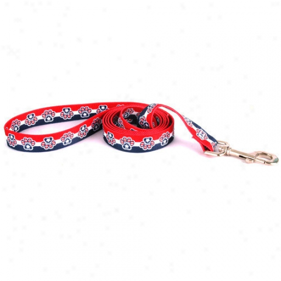 Yellow Dog Design Patriotic Paws Lead