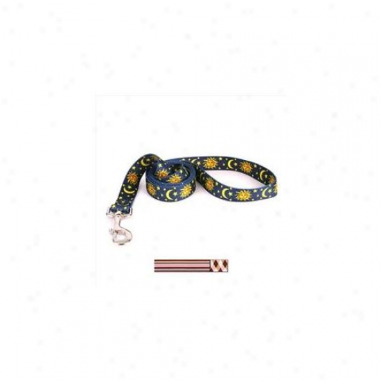 Yellow Dog Design Pba104ld 3/8 Inch X 60 Inch Pink And Brown Argyle With Stripes Lead