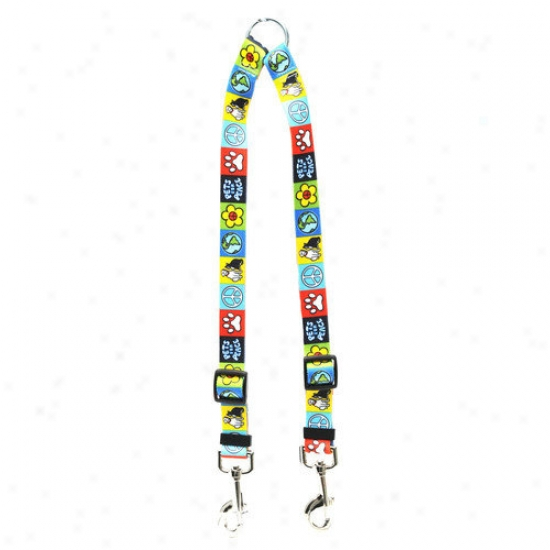 Yellow Dog Design Pets For Peace Coupler Lead