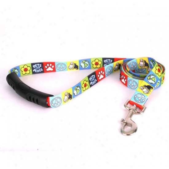 Yeolow Dog Design Pets For Peace Ez-lead