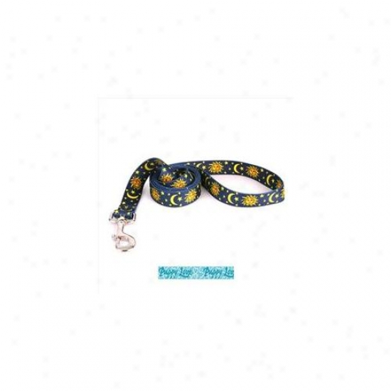 Yellow Dog Design Plb104ld Puppy Love Blue Lead - 3/8 Inch X 60 Inch