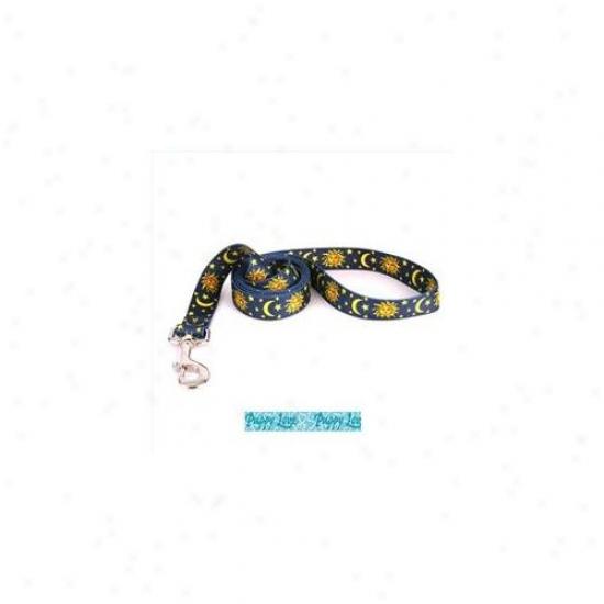 Yellow Dog Design Plb105ld Puppy Love Blue Lead - 3/4 Inch X 600 Inch