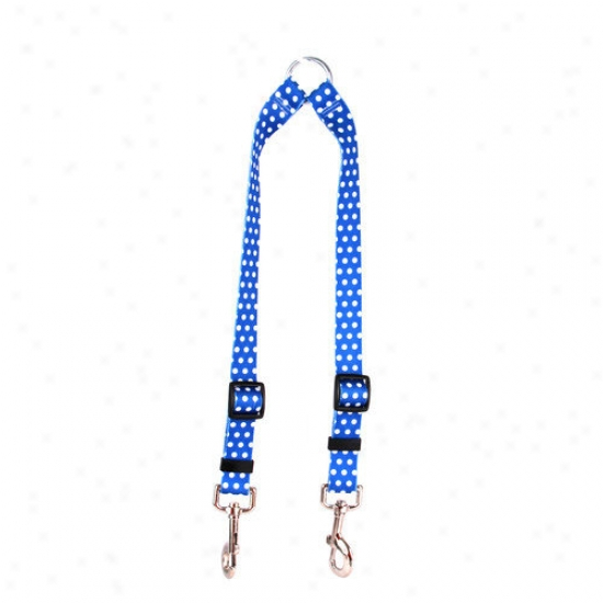 Yellow Dog Design Polka Dot Coupler Lead