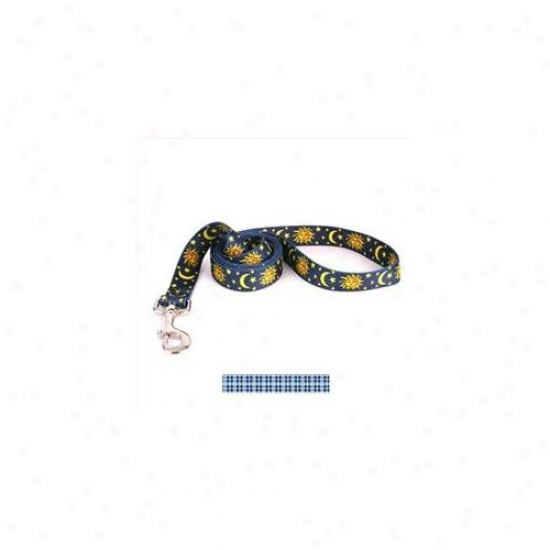 Yellow Dog Design Prep105ld Preppy Boy Plaid Lead - 3/4 Inch X 60 Inchh