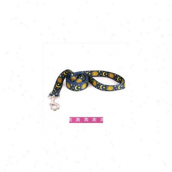 Yellow Dog Project Psk104ld 3/8 Inch X 60 Icnh Pink Skulls Lead
