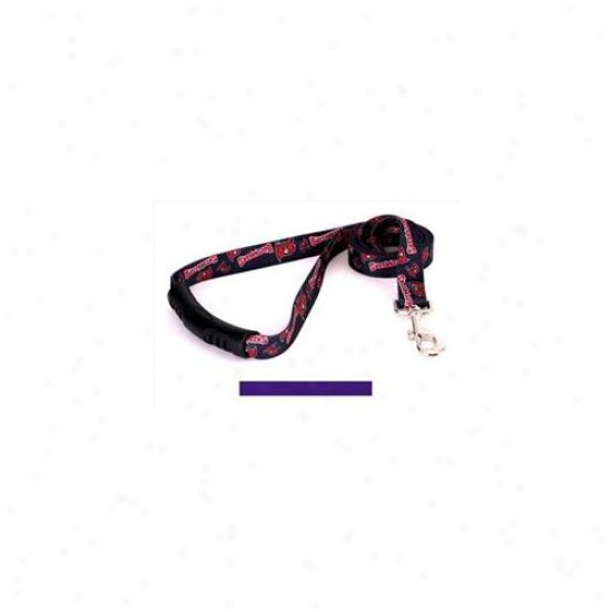 Yellow Dog Design Pur106ld-ez Solid Purple Ez-lead - 1 Inch X 60 Inch