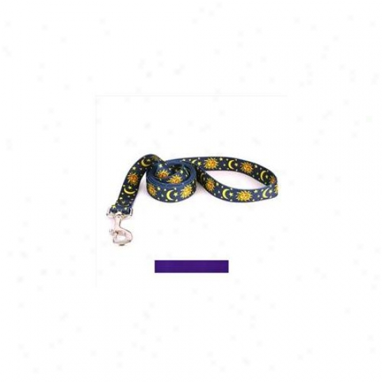 Yellow Dog Design Pur106ld Solid Purple Lead - 1 Inch X 60 Inch