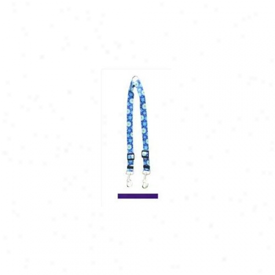 Golden Dog Design Pur108 Solid Purple Coupler Lead - Small