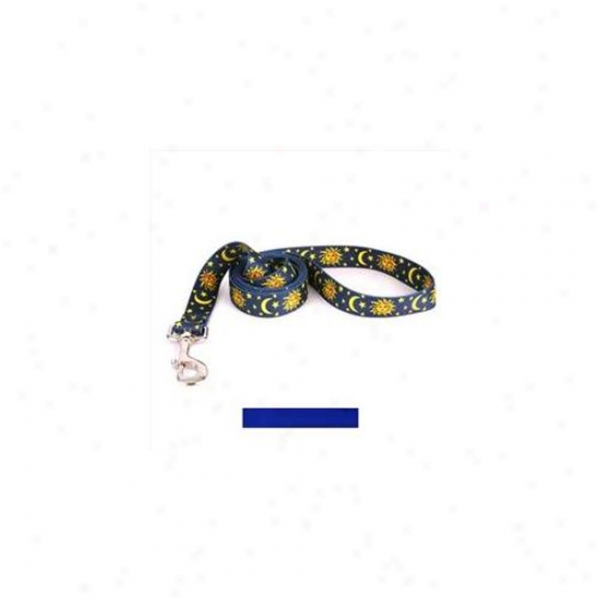 Yellow Dog Design Rbl104ld Solid Royal Blue Lead - 3/8 Inch X 60 Inch