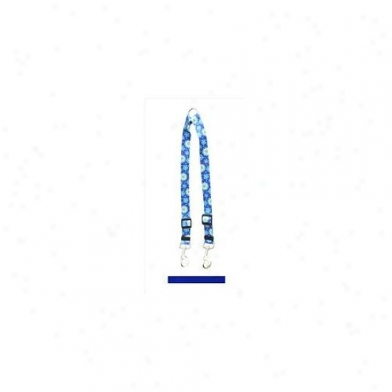 Yellow Dog Design Rbl109 Solid Royal Azure Coupler Lead - Medium