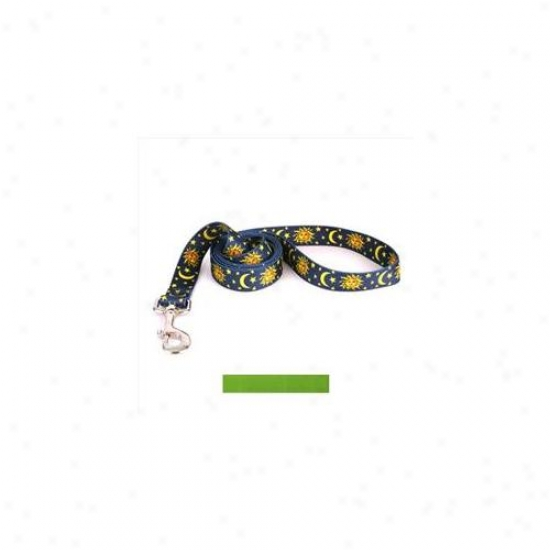 Yellow Dog Design Sgr106ld Solid Spring Green Lead - 1 Inch X 60 Inch