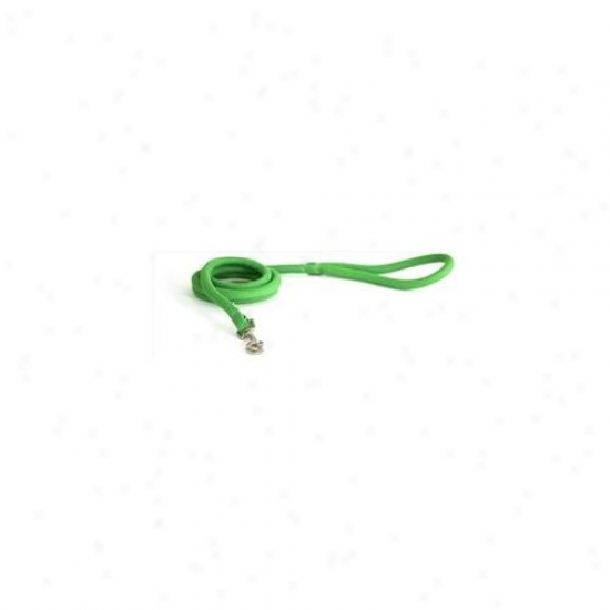 Yellow Dog Deaign Sgr138ld Spring Green Round Braided Lead - 3/8 Inch X 60 Inch
