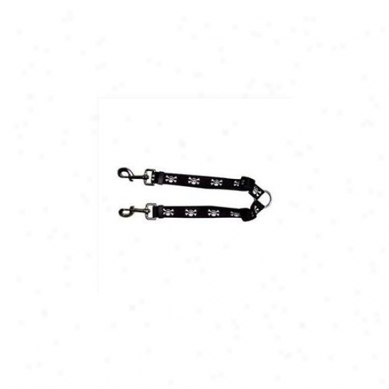 Yellow Dog Design Sk108 Skulls Coupler Lead - Small