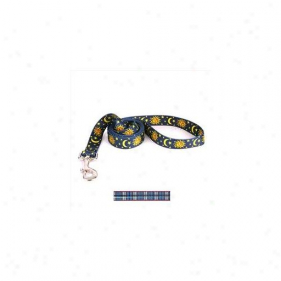 Yellow Dog Design Tb105ld Tartan Blue Lead - 3/4 Inch X 60 Inch