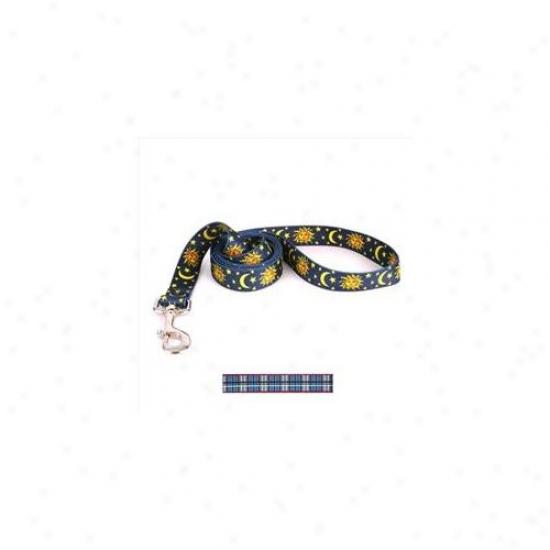 Yellow Dog Design Tb106ld Tartan Blue Lead - 1 Inch X 60 Inch