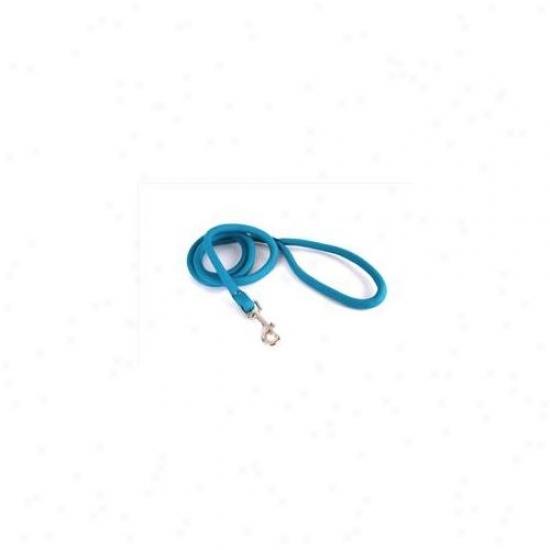 Yellow Dog Design Tel107lx Teal Round Braided Lead - 3/4 Inch X 60 Inch