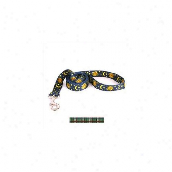 Yellow Dog Design Tg104ld Tartan Green Lead - 3/8 Inch X 60 Inch