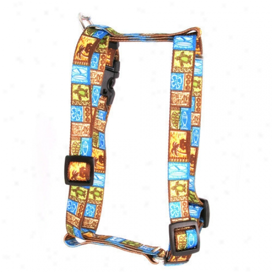 Yellow Dog Design Tiki Primt Roman Harness