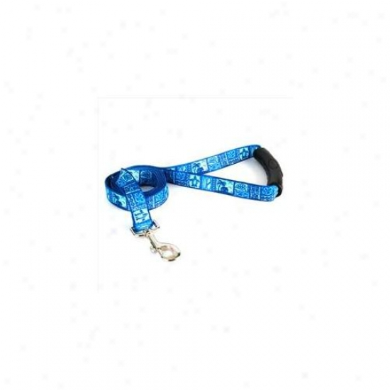 Yellow Dog Design Tkb105ld 3/4 Inch X 60 Inch Tiki Blue Lead