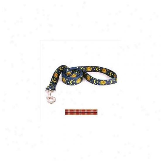 Yellow Dog Deaign Tr104ld Tartan Red Lead - 3/8 Inch X 60 Inch