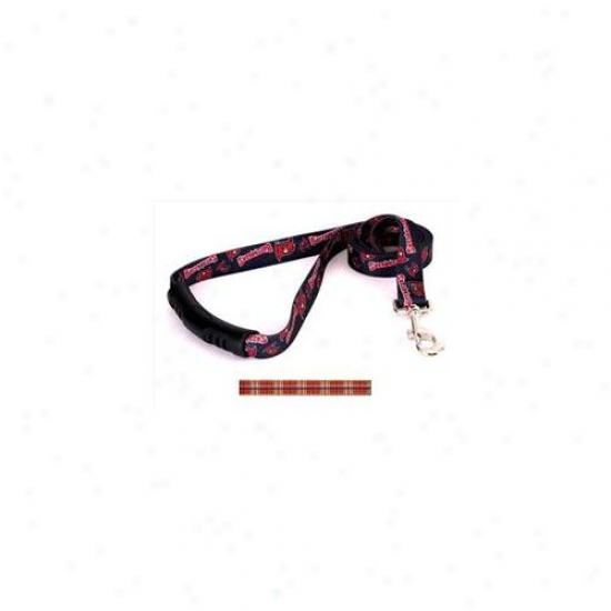 Yellow Dog Design Tr105ld-ez Tartan Red Ez-lead - 3/4 Inch X 60 Inch