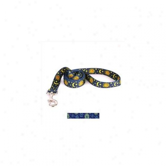 Yellow Dog Design Tsns104ld Team Spirit Black And Silver Lead - 3/8 Inch X 60 Inch