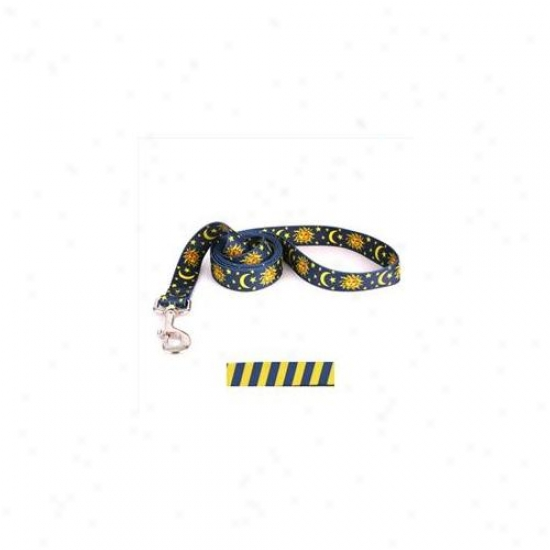 Yellow Dog Design Tsby105ld 3/4 Inch X 60 Inch Team Spirit Blue And Yellow Lead