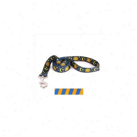 Yellow Dog Design Tsgb105ld 3/4 Inch X 60 Inch Team Spirit Gold And Blue Lead
