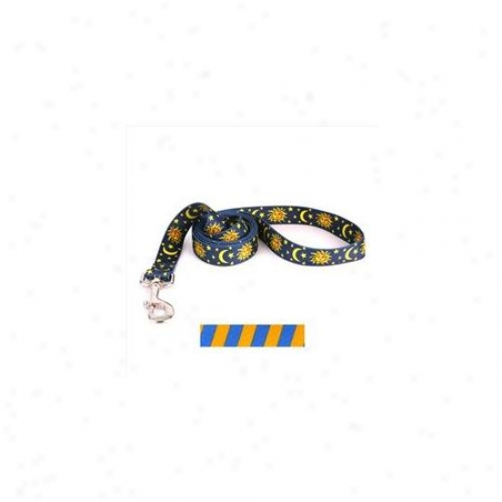 Yellow Dog Design Tsgb106ld 1 Inch X 60 Inch Team Spirit Gold And Blue Conduct
