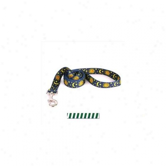 Yellow Dog Design Tsgq105ld 3/4 Inch X 60 Inch Team Splrit Green And White Lead