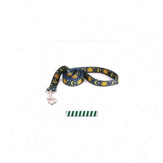 Yellow Dog Design Tsgw106ld 1 Inch X 60 Inch Team Spirit Green And White Lead