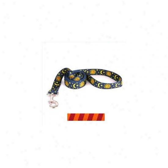 Yellow Dog Design Tsmo104ld 3/8 Inch X 60 Inch Team Spitit Maroon And Orange Lead